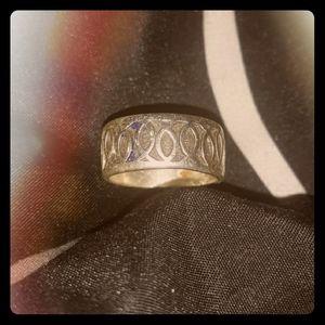 MENS Christian Fish Ring